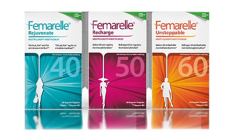 Femarelle ett kosttillskott vid klimakteriebesvär