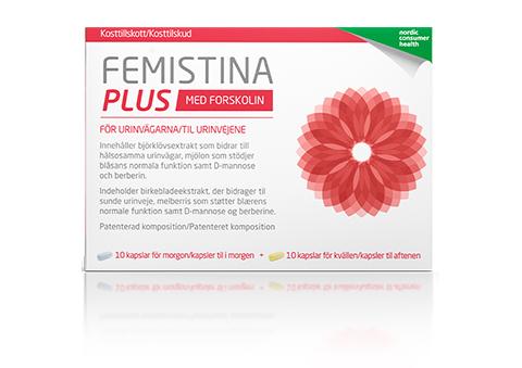 Femistina kosttillskott vid urinvägsbesvär hos kvinnor