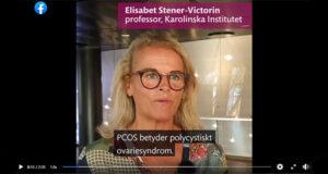 Professor Elisabet Stener Victorin, Karolinska Institutet, berättar om PCOS.